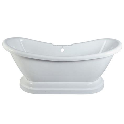 pedestal bathtub pedestal slipper bathtub