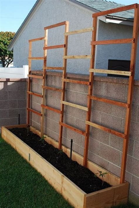 This House Privacy Planter by Diy Privacy Planter Home Design Garden Architecture