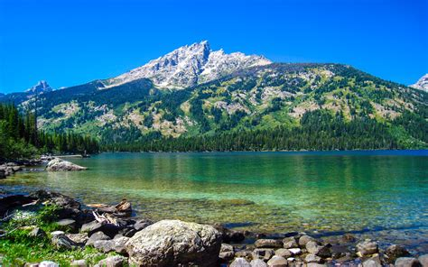 hike themes hd emerald lake grand teton national park wyoming usa