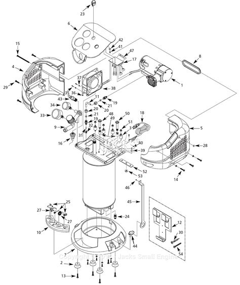 diagram of air compressor cbell hausfeld wall mount parts diagram hilti parts