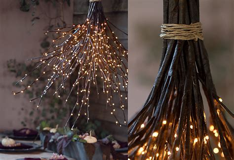 Diy Forest Chandelier How To A Woodland Chandelier In The At Terrain