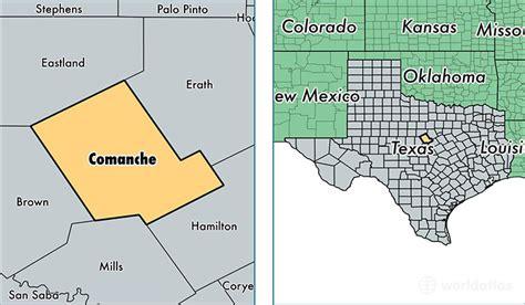 comanche county texas map comanche county texas map of comanche county tx where is comanche county