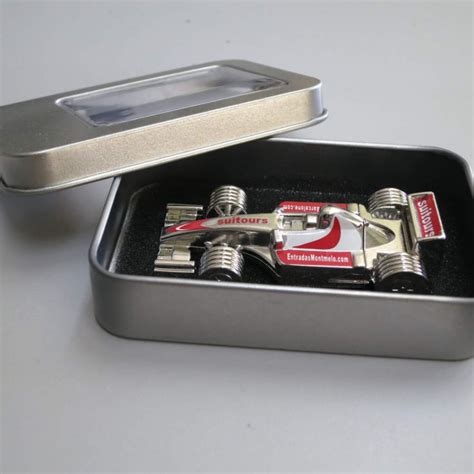 Usb Racing Car Is An All In One Memory Card Reader by F1 Car Usb Pen Drive Tickets Gp Barcelona