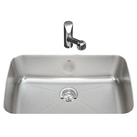 Kindred Kitchen Faucet Reviews Shop Kindred Silk Bowl And Single Basin Undermount