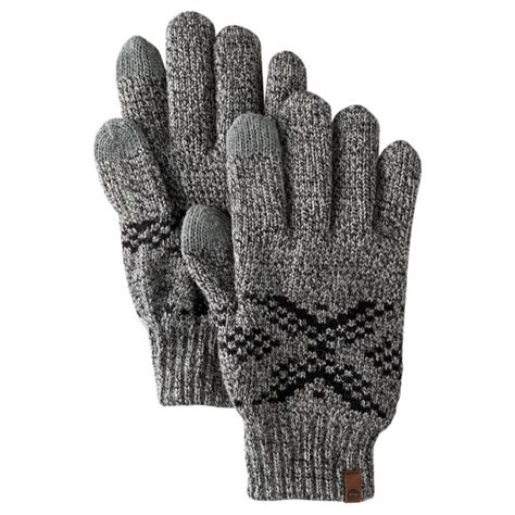 knit touchscreen gloves s fair isle knit touchscreen gloves timberland us store