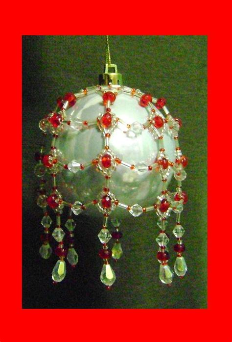 beaded ornament cover patterns inspired beaded ornament cover pattern