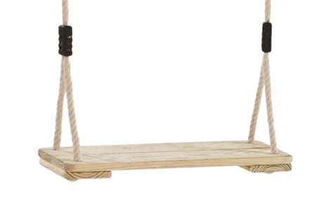 wooden rope swing classic wooden swing seat with soft waterproof polyhemp