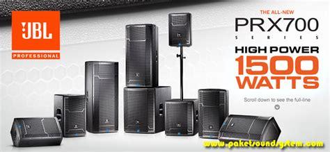 Speaker Aktif Jdl Terbaru sound system aktif jbl profesional seri prx700 paket sound system profesional indonesia