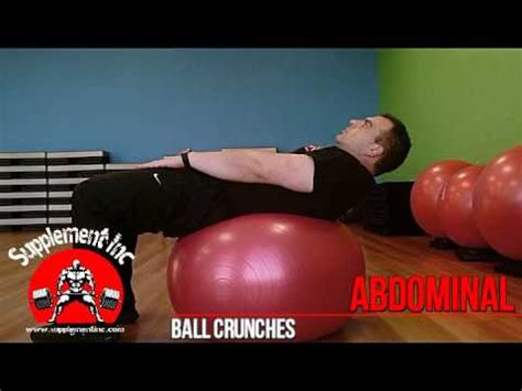 abs crunches exercise demo and supplement inc