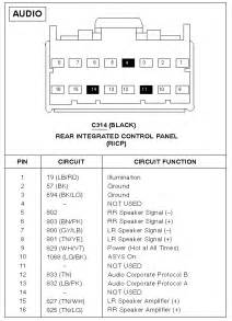 radio wiring diagram on 2000 ford explorer radio ford free wiring diagrams