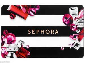 Check Balance On Gift Card Sephora - alex dello from pittsburgh accidentally charged her mom s credit card at sephora daily mail online