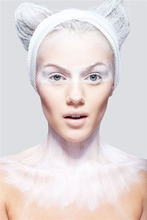 Make Up Marlene Hariman 17 best ideas about white makeup on white paint tribal paint and tribal
