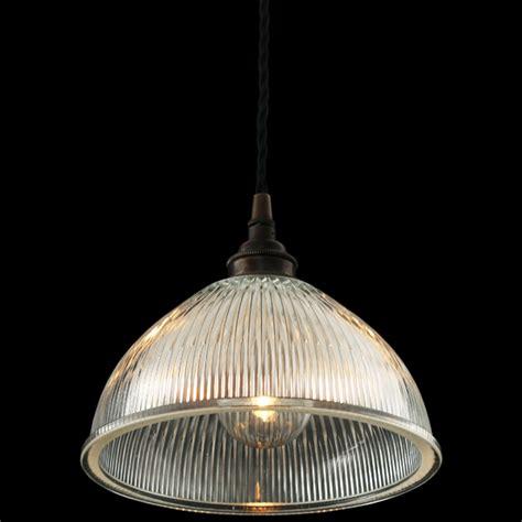 Mullan Boston Industrial Holophane Pendant Light Holophane Pendant Light
