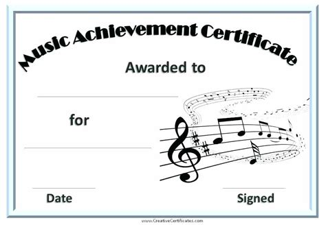 choir certificate template great choir certificate template award singing