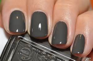 grey nail color essie charcoal gray grey great