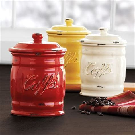 italian canisters kitchen the world s catalog of ideas