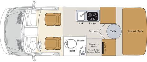 Dealer Floor Plan by Pleasure Way Ascent Rv Dealer