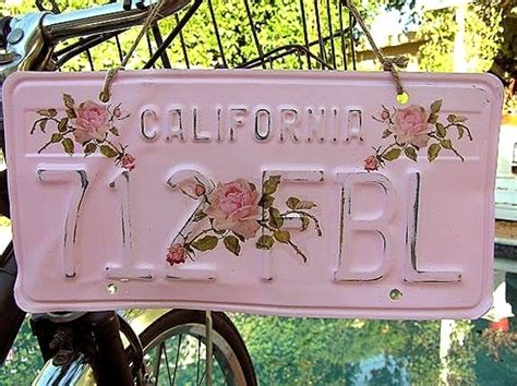 license plate  cute ways  personalize  car