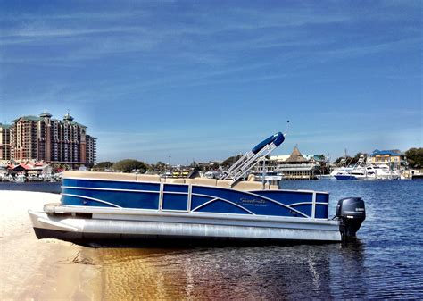 pontoon boat rental in destin pontoon boat rentals are the most popular type of boat