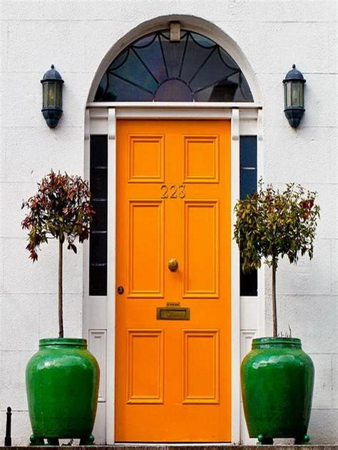Colorful Front Doors 28 Lovely Colored Front Doors