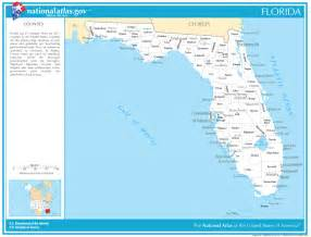 state map with cities and counties towns in florida by county