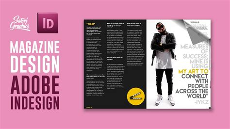 magazine design youtube magazine layout in adobe indesign tutorial photoshop