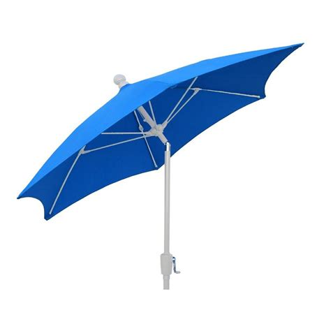 9 Ft Patio Umbrella Fiberbuilt Umbrellas 9 Ft Patio Umbrella In Pacific Blue 9hcrw T Pb The Home Depot