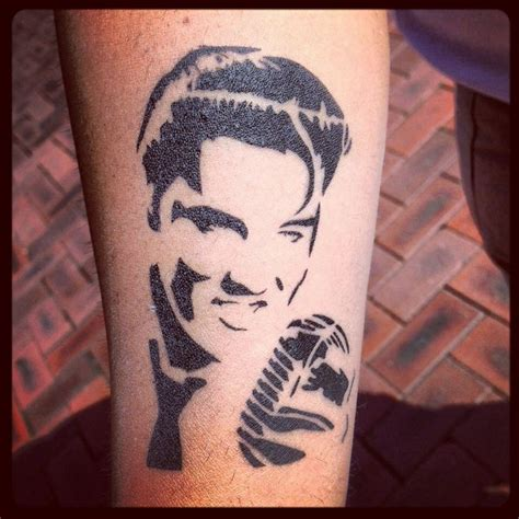 elvis tattoo elvis tattoos