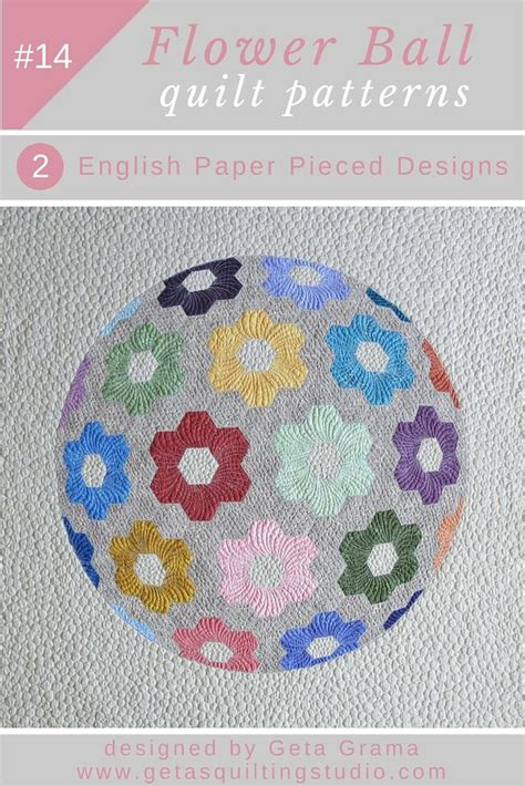 grandmother flower garden quilt pattern modern grandmothers flower garden quilt pattern