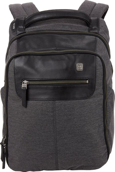 Tumi Backpacker 1 tumi ttech forge steel city slim backpack in black for charcoal lyst