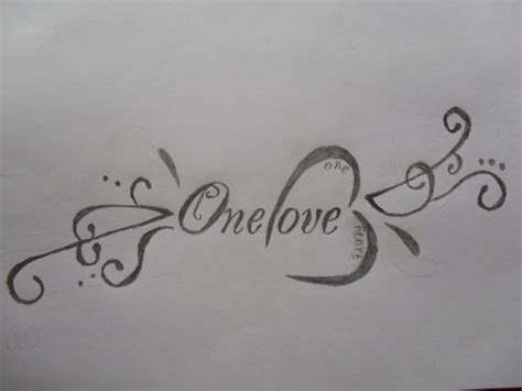 one love one heart tattoo design tattoo picture at