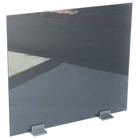 Stainless Steel Fireplace Screen by Glass And Stainless Steel Fireplace Screen By Pace