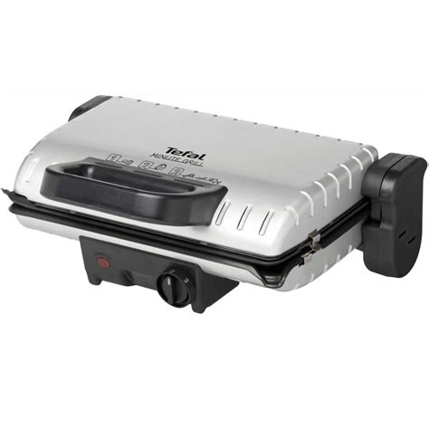 Tefal Grill by Tefal Grill Viande 1600 W Minute Grill Argent Gc2050
