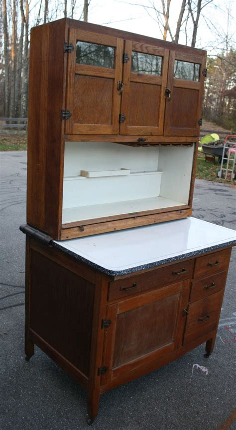 oak auto antique oak auto front hoosier cabinet cupboard tambour