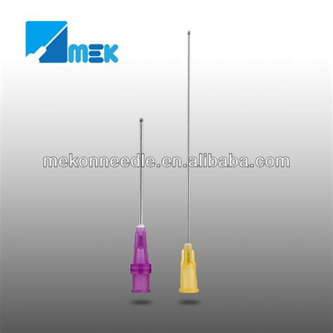Disposible Nedel Onmed disposable blunt cannula needle view blunt cannula mekon product details from shanghai mekon