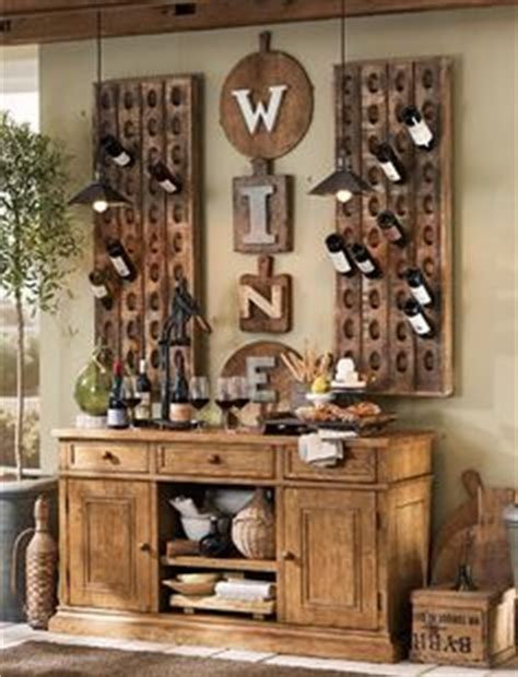 wine wall decorating dining room 1000 images about pottery barn diy on pottery