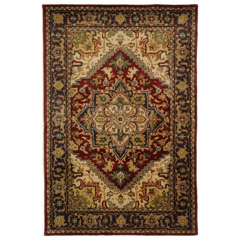 Safavieh Classic Assorted Red 4 Ft X 6 Ft Area Rug 4 Ft Area Rugs