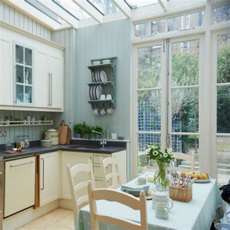 kitchen conservatory designs extend your kitchen space conservatory decorating ideas photo gallery ideal home