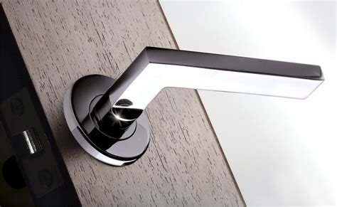 the apollo modern lever will greet your guests in understated style home iq