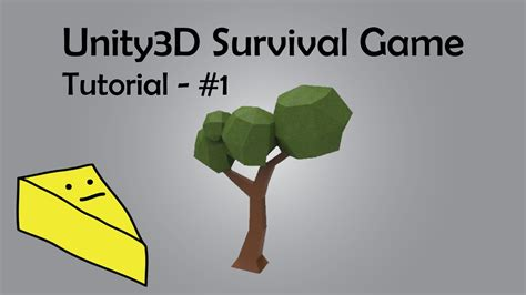 unity3d game tutorial unity3d survival game tutorial 1 youtube