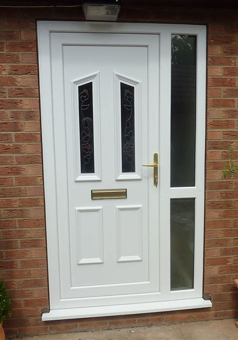 upvc front doors with side panels value doors scunthorpe