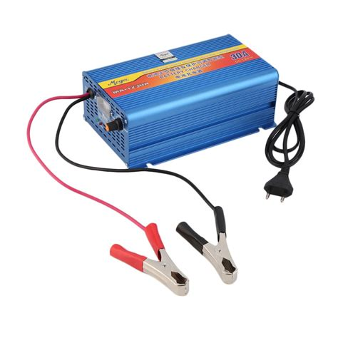 Mg Portable Motorcycle Car Battery Charger 12v 2a 2017 new 12v 30a lead acid battery chargers car battery