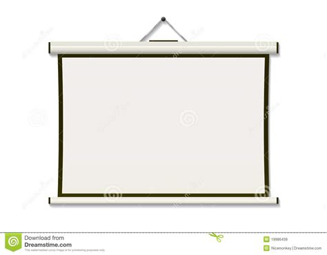 projection screen hang royalty free stock images image