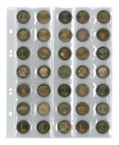 coin sede legale lindner mu40 coin pages universal for 5 current coin