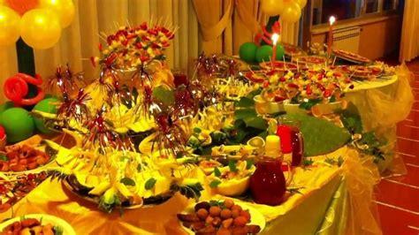 apparecchiamento tavola buffet compleanno 18 anni dolce e salato la bussola hotel
