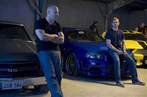 fast and furious cars vin diesel paul walker s fast and furious 7 scenes will retire
