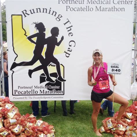 Dhania By Marghon dr j on running pocatello marathon