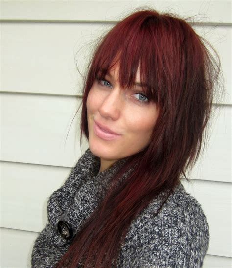 Burgundy Brown Hair Color Pictures | deep burgundy brown hair color newhairstylesformen2014 com