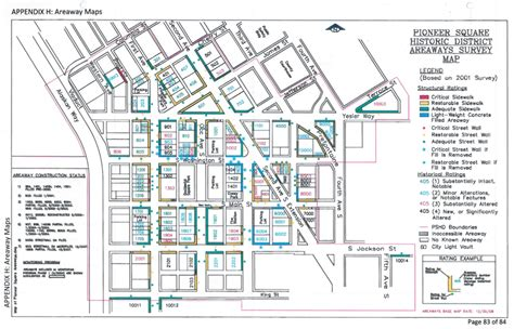 seattle underground map seattle map 4 downtown catacombs geologywriter