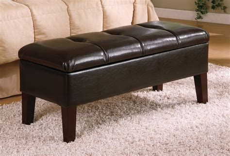 how to build a bedroom bench coaster button tufted design storage bench brown